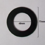 McAlpine 77mm Flat Rubber Washer Seal RWW3 - 39004033